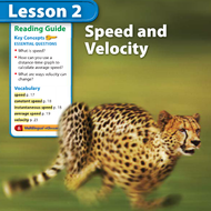 Speed and Velocity (Chapter 1 Lesson 2)