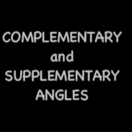 Complimentary vs Supplementary