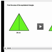 Using Right Triangle Trigonometry to find the Area of Regular Polygons