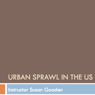 Urban Sprawl in the U.S.