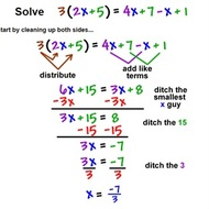 2.3 Lesson 4 Distribute to Solve Equations