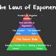 4-6 Laws of Exponents Day 1