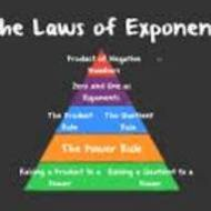 4-6 Laws of Exponents Day 1 (due SUN 2/1)