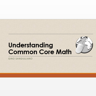Understanding Common Core Math