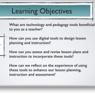 "Summary of ""applying appropriate technology tools to enhance lesson design and classroom instruction"