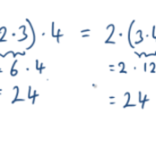 Multiplication is Associative