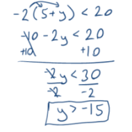 Solving Multi-Step Inequalities