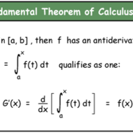 5.4 Fundamental Theorem of Calculus Part 2