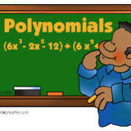 4-9 Adding and Subtracting Polynomials (due SUN 2/8)