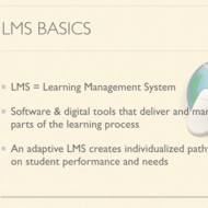 Introduction to Adaptive LMSs