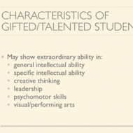 Benefits/Challenges/Tips for Using Adaptive Learning with Students who are Gifted/Talented