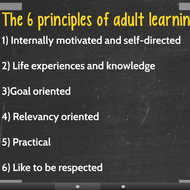 PLCs and Adult Learning Theory