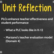 Reflect on PLCs