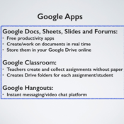 Technology to support collaborative teaching and learning