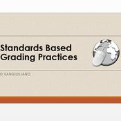 Standards Based Grading Practices