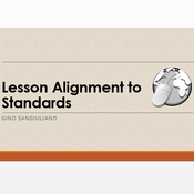 Lesson Alignment to Standards