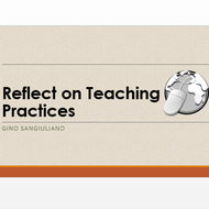 Reflect on Teaching Practices