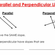 Slopes of Parallel and Perpendicular Lines - Part I