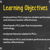 """Summary of """"Evaluate Professional Learning Communities"""""""