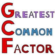 4-15 Finding GCF (due FRI 2/20)