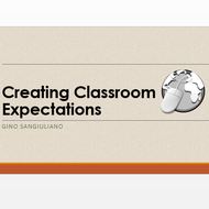 Creating Classroom Expectations