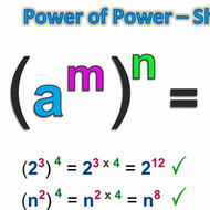 Law of Exponents: Power of a Power