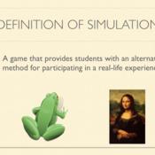 Gamification: Simulation