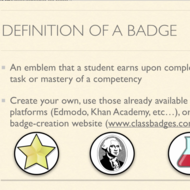 Gamification and Badges