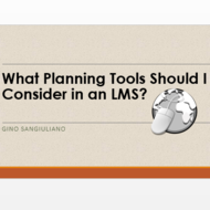 What Planning Tools Should I Consider in an LMS?