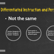 Personalization and Differentiation in Action