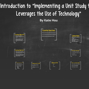 """Introduction to """"Implementing a Unit of Study that Leverages the Use of Technology."""""""
