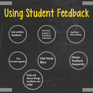 Using Student Feedback
