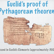 Euclid's Proof of Pythagorean Theorem
