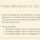 Three Principles of UDL