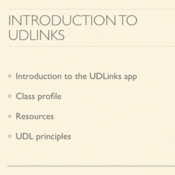 Introduction to UDLinks