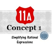 Chapter 11a, Concept 1 - Simplifying Rational Expressions