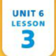 Unit 6 Lesson 3 - Write Word Problems