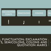 Useful Punctuation: Exclamation Points, Semicolons, Colons, and Quotation Marks