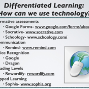 Differentiating Instruction: Content
