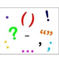 A Variety of Punctuation Marks:  A final pass