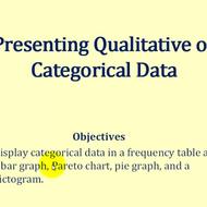 Categorical Displays