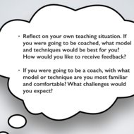 Reflective Teachers and Coaches