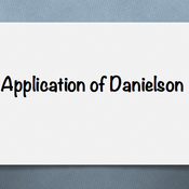 Application of Danielson (case study/example)