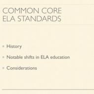 ELA CCSS Standards