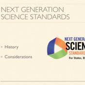 Understanding Next Generation Science Standards