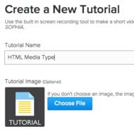 HTML Media Type