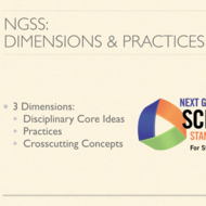Next Generation Science Standards: Dimensions and Practices
