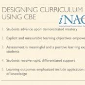 Designing Curriculum Using CBE