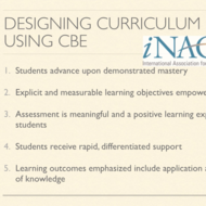 Designing Curriculum Using CBE