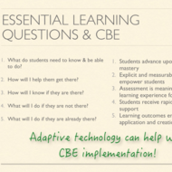 CBE and the Essential Learning Questions